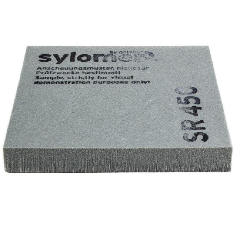Виброизолирующий эластомер Sylomer SR 450 серый 1200х1500х12,5 мм, цена - купить у оптового поставщика