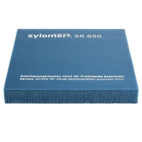 Виброизолирующий эластомер Sylomer SR 850 бирюзовый 1200х1500х12,5 мм, цена - купить у оптового поставщика