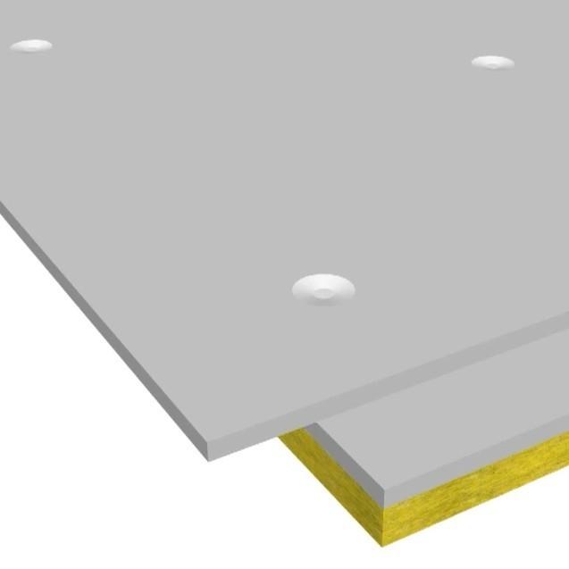 Сэндвич-панель звукоизоляционная ЗИПС-Z4 1200х600х42,5 мм с комплектом крепежа, цена - купить у оптового поставщика