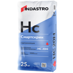 Гидроизоляция жесткая Индастро Смартскрин HC20 H 25 кг , цена - купить у оптового поставщика