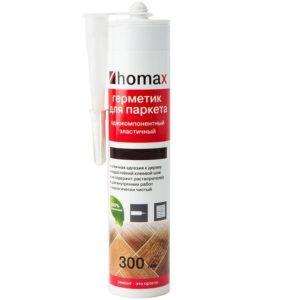 Герметик Homax для паркета белый 300 мл, цена - купить у оптового поставщика
