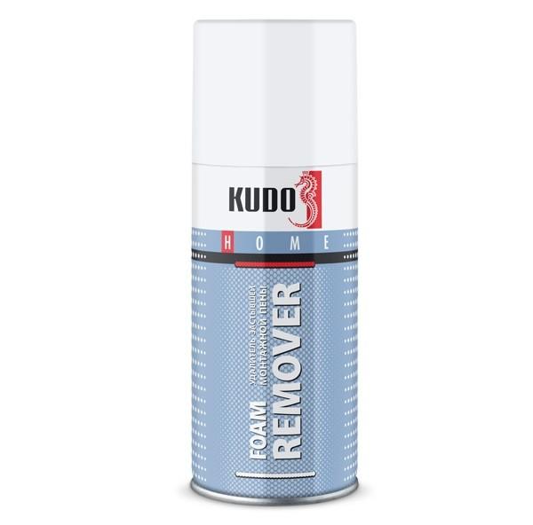 Очиститель застывшей монтажной пены Kudo Foam Remover 210 мл, цена - купить у оптового поставщика