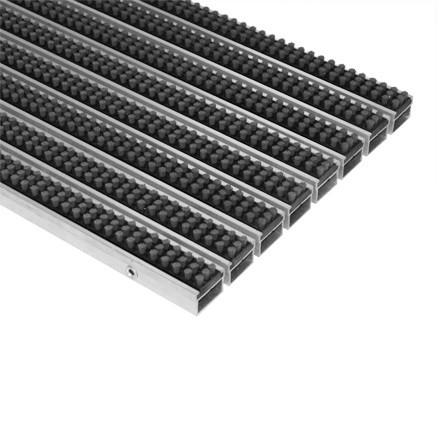 Грязезащитная решетка Император Лайт 22 СВ со вставкой кассетная щетка 594х394 мм