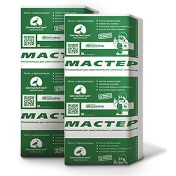 Утеплитель ШелтерЭкоСтрой Мастер 900х600х50 мм 6 плит в упаковке, цена - купить у оптового поставщика в Москве