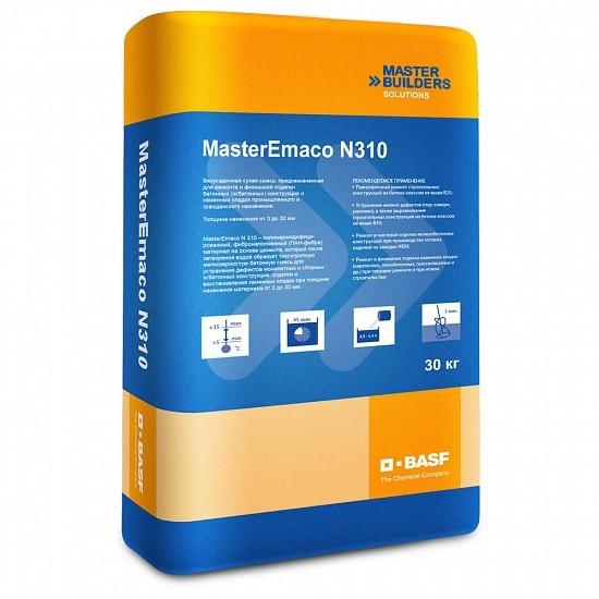 Смесь бетонная BASF MasterEmaco N 310 финишная 30 кг, цена - купить у оптового поставщика