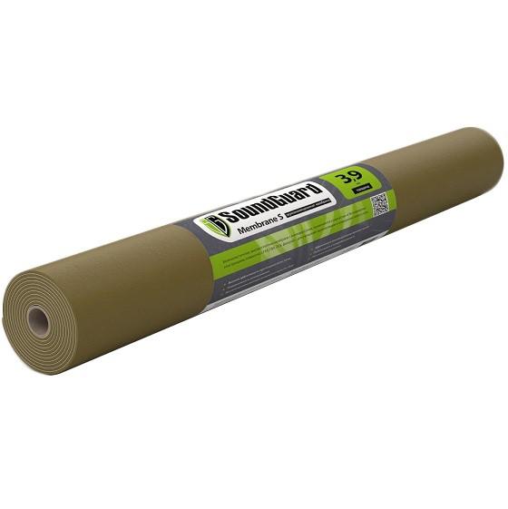 Мембрана звукоизоляционная Soundguard Membrane S 3,9 2500х1200х3,9 мм, цена - купить у оптового поставщика