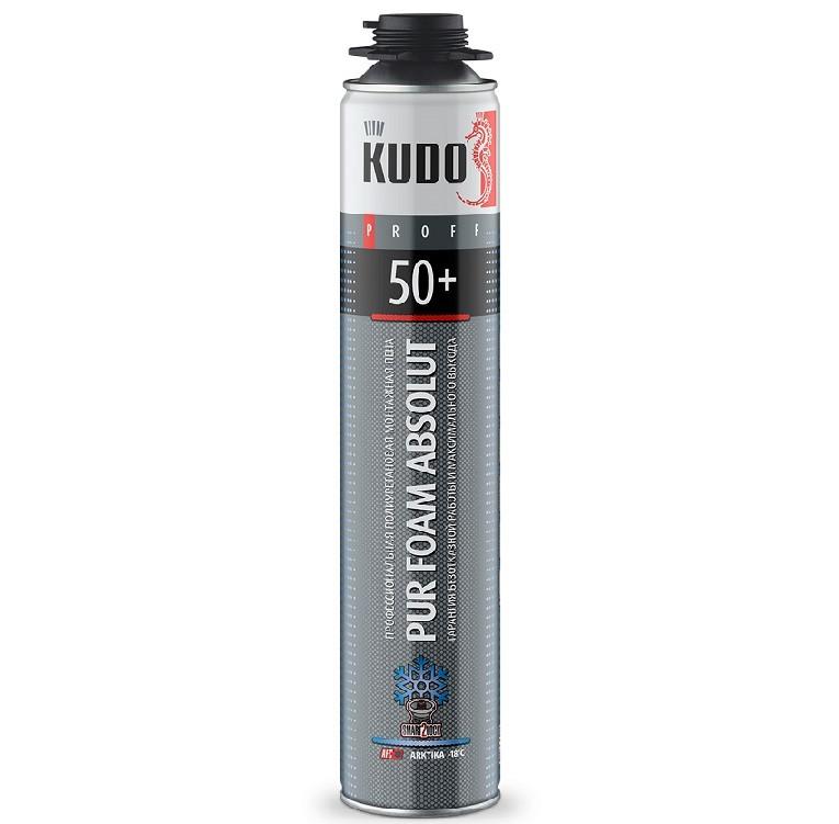 Пена монтажная профессиональная Kudo Proff 50+ Arktika зимняя, цена - купить у оптового поставщика
