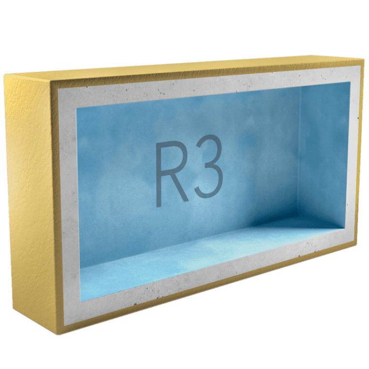 Подрозетник звукоизоляционный AcousticGyps Box R3 270х120х45 мм, цена - купить у оптового поставщика