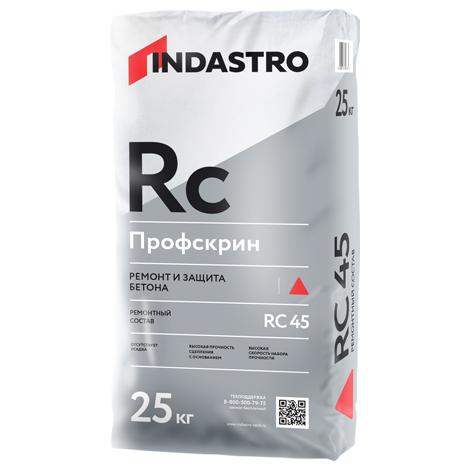 Ремонтный состав Индастро Профскрин RC45 высокопрочный 25 кг, цена - купить у оптового поставщика