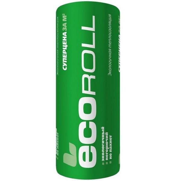 Теплоизоляция EcoRoll Рулон 044 8200х1220х50 мм, цена - купить EcoRoll Рулон 044 8200х1220х50 мм в Москве