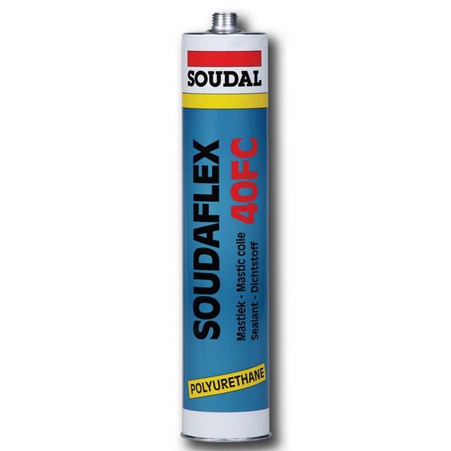 Герметик полиуретановый Soudal Soudaflex 40 FC белый 310 мл, цена - купить у оптового поставщика