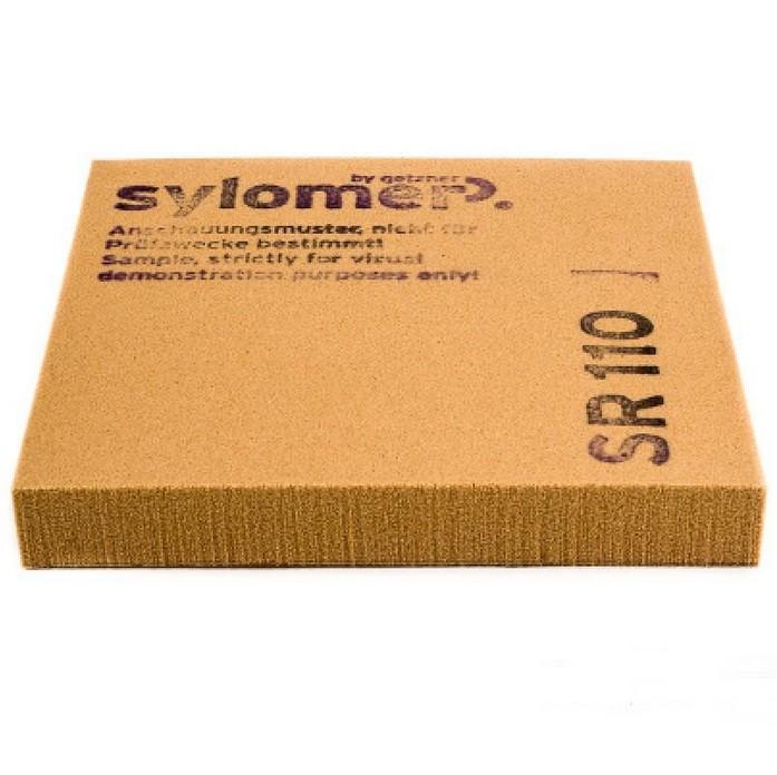 Виброизолирующий эластомер Sylomer SR 110 коричневый 1200х1500х12,5 мм, цена - купить у оптового поставщика