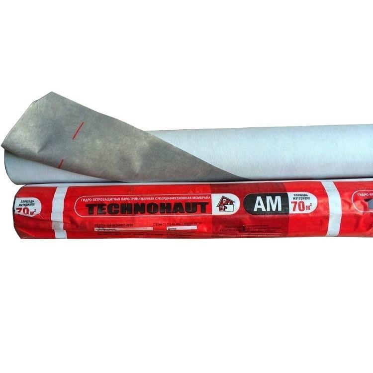 Мембрана гидро-ветрозащитная Technohaut AM 1,5х46,67 м, цена - купить у оптового поставщика