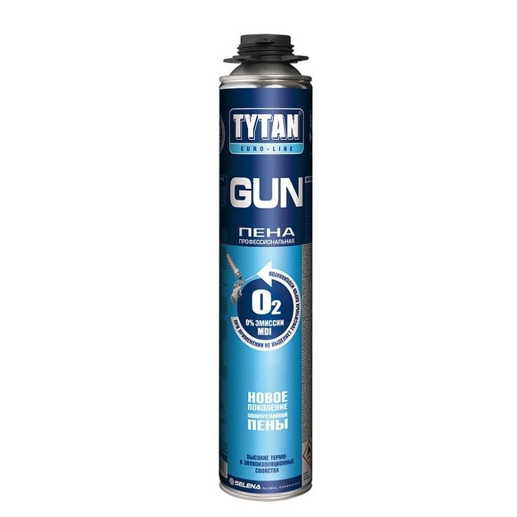 Пена монтажная профессиональная Tytan Euro-Line Gun 750 мл, цена - купить у оптового поставщика