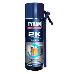 Пена монтажная Tytan Professional 2К быстрая 400 мл, цена - купить у оптового поставщика