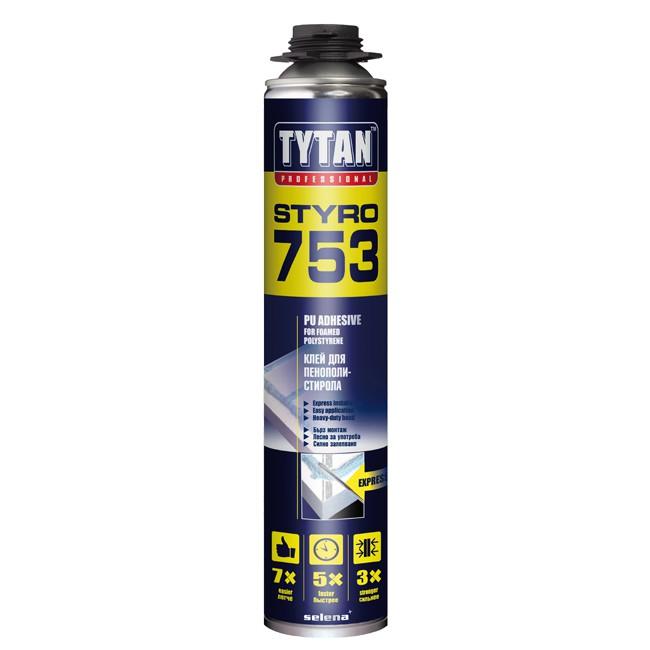 Клей для теплоизоляции Tytan Styro 753 O2, цена - купить Tytan Styro 753 O2 в Москве