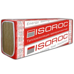 Базальтовая вата Isoroc Ультралайт 1200х600х100 мм 4 плиты в упаковке, цена - купить у оптового поставщика