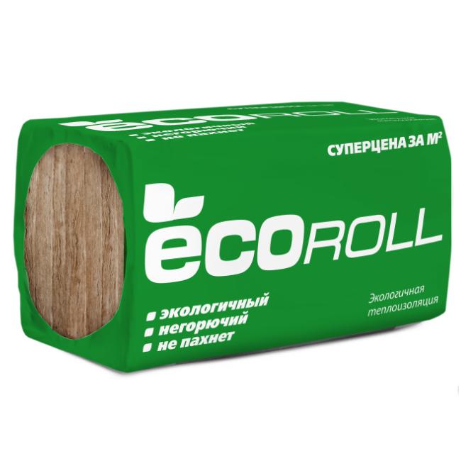 Теплоизоляция EcoRoll Плита 040 1230х610х100 мм 8 плит в упаковке, цена - купить EcoRoll Плита 040 1230х610х100 мм 8 плит в упаковке в Москве