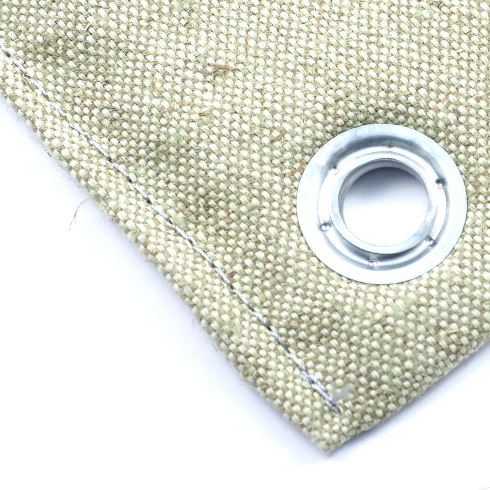 Тент брезентовый 11255 ГОСТ - утепленный (Изолон 5 мм) нестандартного размера