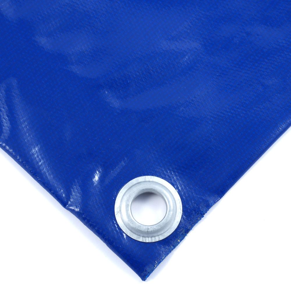 Тент ПВХ двусторонний 450 гр/м2 6х8 м утепленный (Изолон 5 мм)