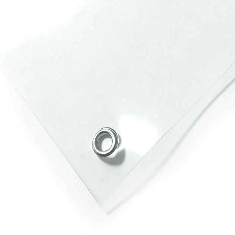 Тент ПВХ прозрачный 500 мкм 4х15 м