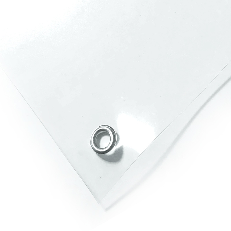 Тент ПВХ прозрачный 500 мкм 10х20 м