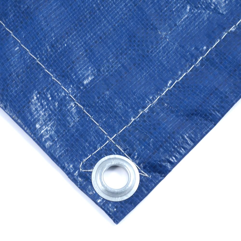 Тент Тарпаулин синий утепленный (Изолон 5 мм) 180 г/м² 10х20 м